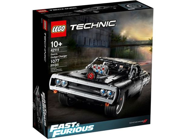 Klocki LEGO Technic 42111 - Dom's Dodge Charger