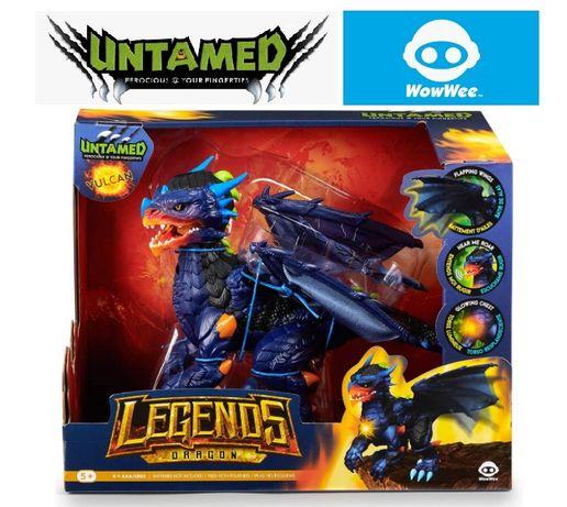 WowWee Untamed Legends Dragon Vulcan Дракон Fingerlings Фінгерлінгс