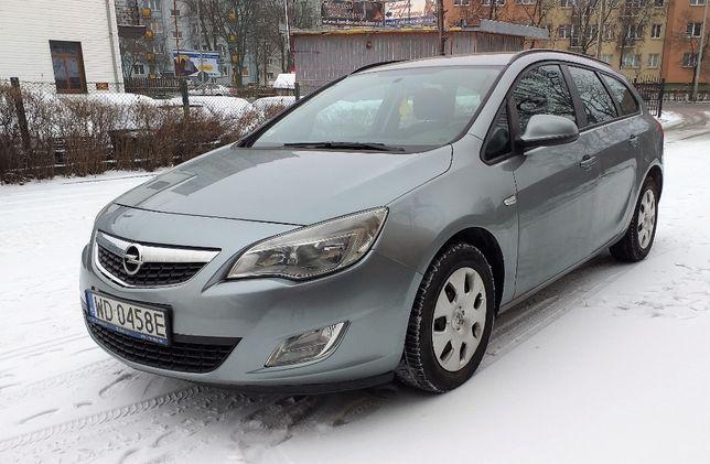 Opel Astra J 2011 r. 1,7 CDTI , kombi na raty prywatne bez BIK,KRD
