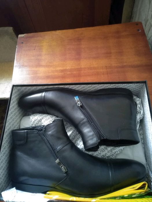 Зимние ботинки Antonio Biaggi кожа Днепр - изображение 1