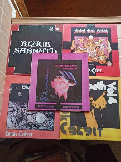 Black Sabbath - Paranoid, Sabbath bloody Sabbath, Vol.4