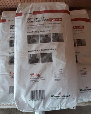 Klej do murowania - Porotherm 15kg (20 worków)