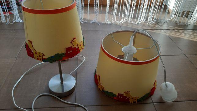 Lampy do pokoju dziecięcego.Safari.