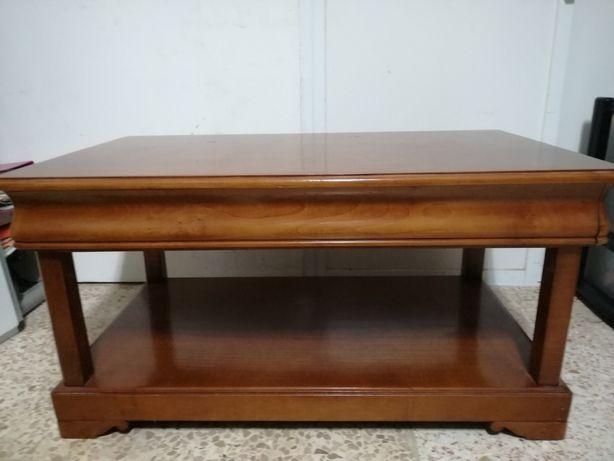 Mesa madeira de castanho