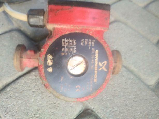 Pompa CO, dmuachawa, sterowanie pieca miałowego