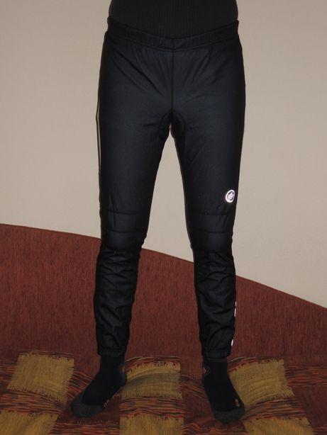 фирменные мембранные вело штаны с памперсом Crane Techtex р.L