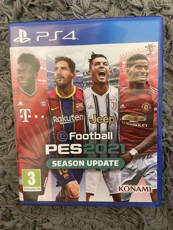 Продам игру Pes 2021 Season Update ( русские субтитры)