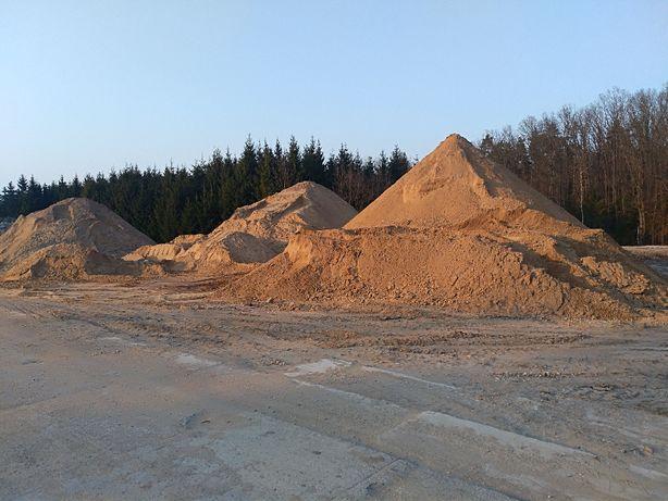 Pospółka piasek żwir