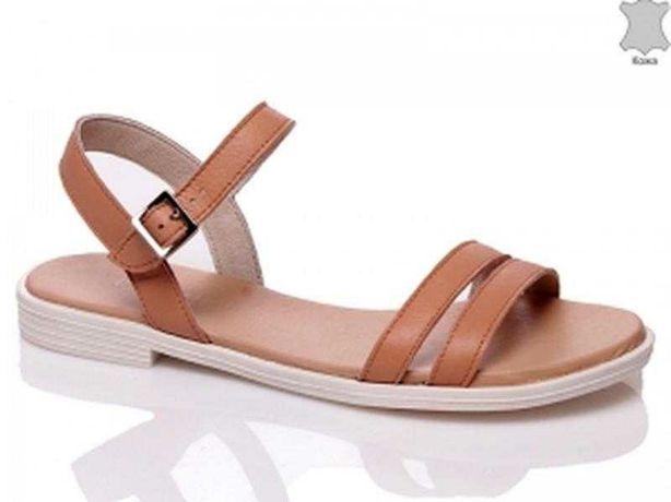Новые сандалии кожа (босоножки )