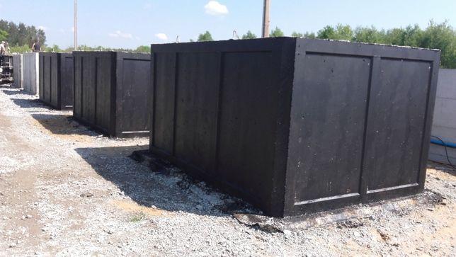 zbiorniki szamba betonowe 4m3 aprobata techniczna szambo wodoszczelne