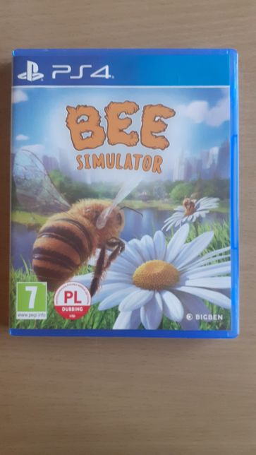 GRA PS4 Przygody Pszczół