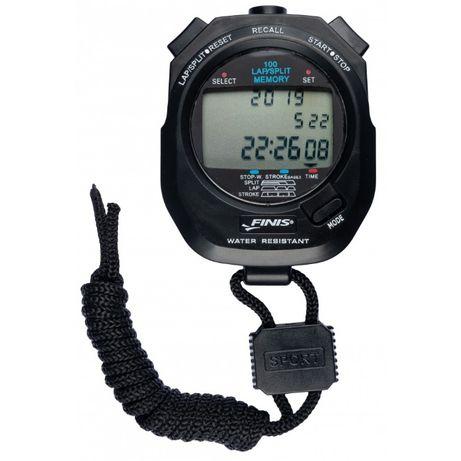 Finis stoper 3x100m stopwatch czarny