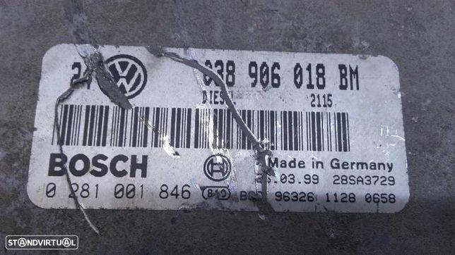 038906018BM  Centralina do motor VW GOLF IV (1J1) 1.9 TDI AHF