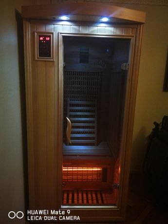 Інфрачервона сауна SunRays, Инфракрасная кабина сауна
