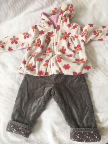 Kurteczka i spodnie na jesień lub wiosnę