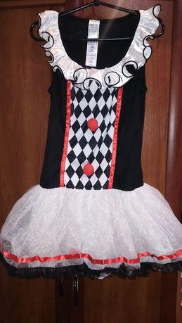 Костюм платье арлекин 164