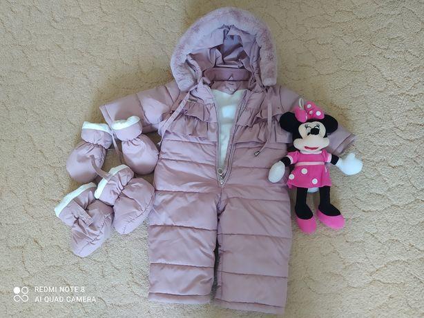 Комбінезон зимовий, осінній, куртка осіння для хлопчика,і для дівчинки