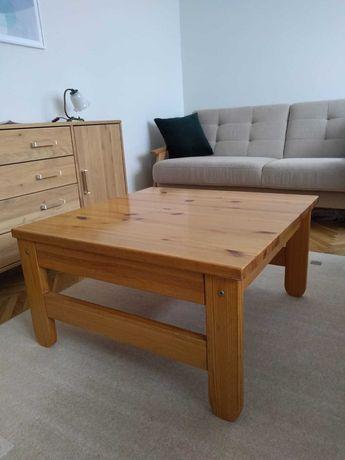 Stolik kawowy z drewna sosnowego IKEA