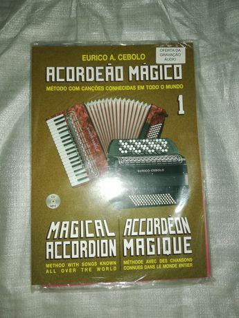 Livro aprender a tocar acordeão 1