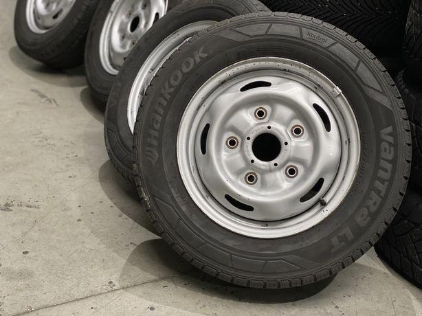 """Felgi Stalowe Koła Ford Transit 5x160 15"""" opony letnie 195/70/15c"""