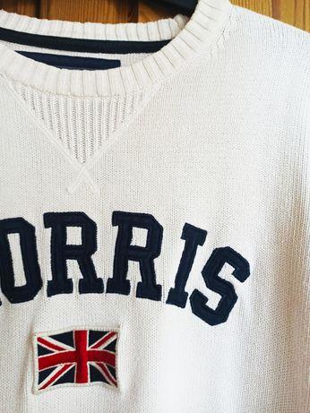 Sweter Morris oryginalny ponadczasowy klasyczny