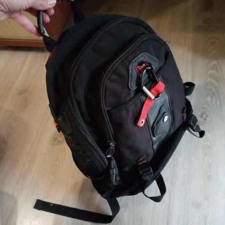 Рюкзак шкільний школьный черный 5-6клас