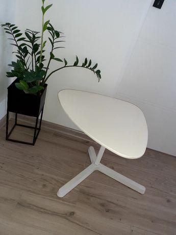 Stolik, ława stoliczek biały