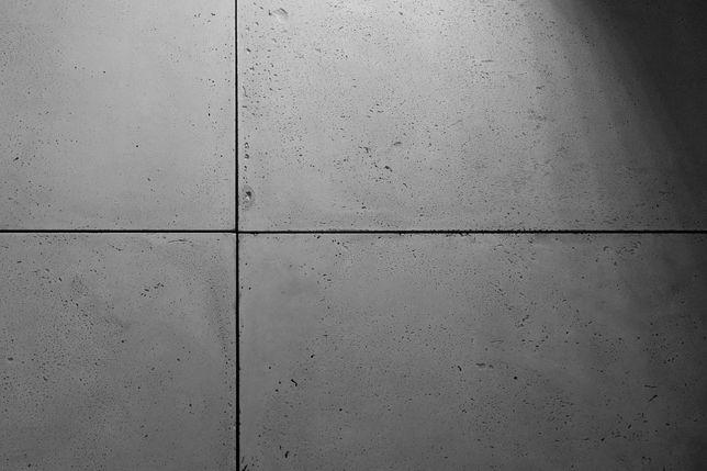 Beton architektoniczny - płyty betonowe z betonu - szlifowane