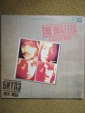 Пластинки The Beatles Paul McCartney Elvis Presley