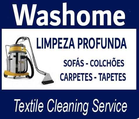 WASHOME - Limpeza Profunda - Carpetes, Sofás, Colchões