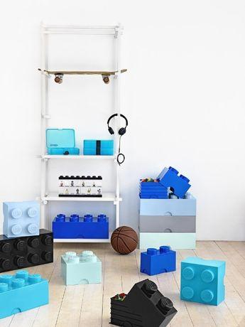 Pojemnik klocek LEGO 8 na zabawki Dla Dzieci Od ręki ! Różne Kolory !!