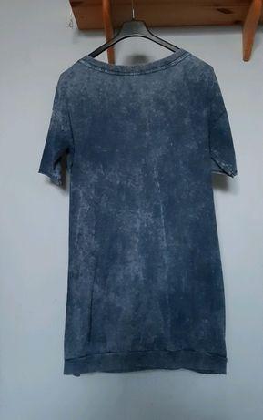 Niebieska tunika