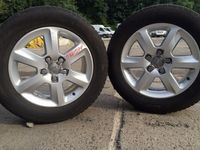 "Felgi aluminiowe 18"" AUDI Q7 5x130+ opony 255/55r18!!!"