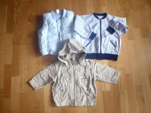 kurteczki na wiosnę / lato/ jesień dla chłopca 74 cm