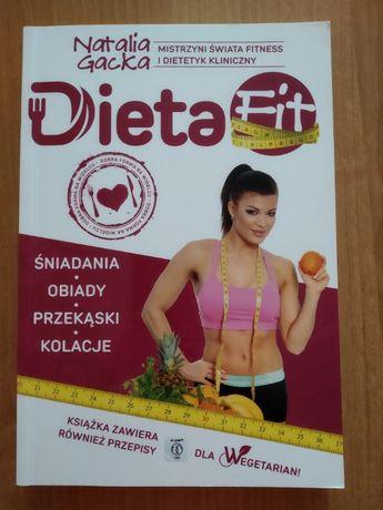Książka Dieta Fit . Natalia Gacka.