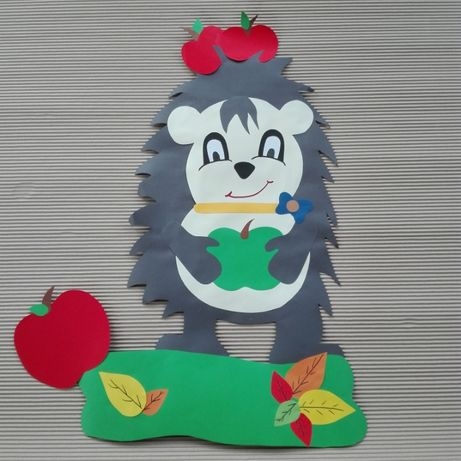 Jeż, dekoracje przedszkolne