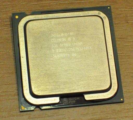 Процессор Intel Celeron D 336 2,8GHz
