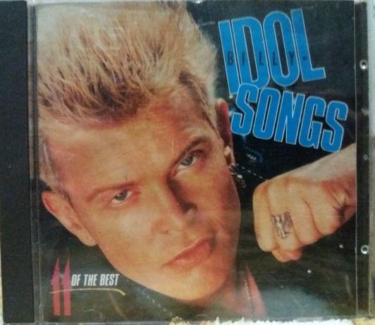 Billy Idol – Idol Songs - 11 Of The Best Фирменный компакт, CD
