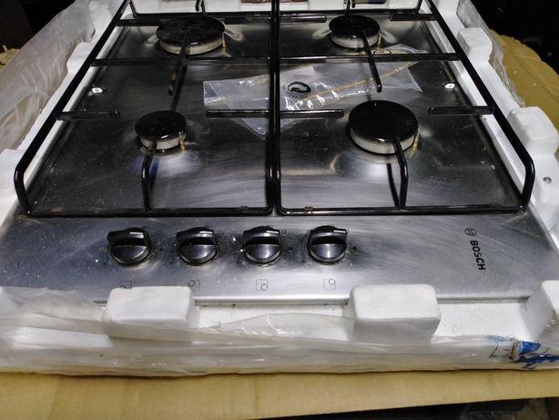 Placa a gás como nova poucas vezes usada a trabalhar na perfeição