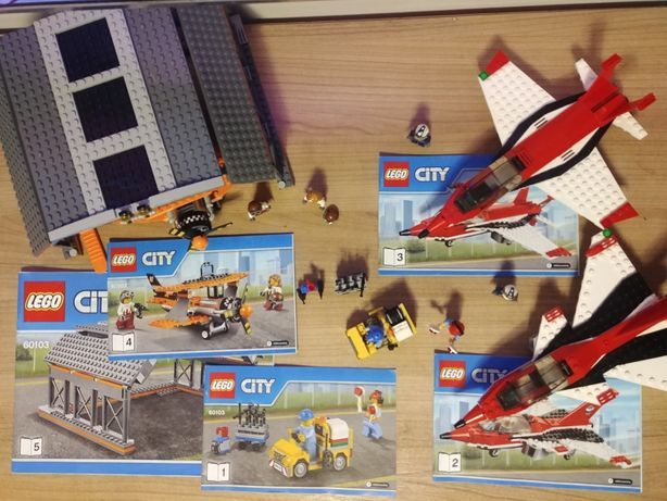 Lego 60103 City pokazy lotnicze kompletny unikat