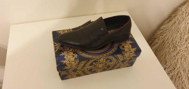 Buty skórzane Alberto torresei (włoskie)