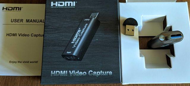 Карта видеозахвата HDMI USB 3.0. + подарок