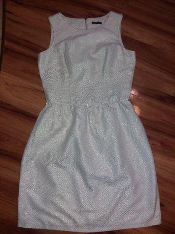 Złota sukienka Mohito 36