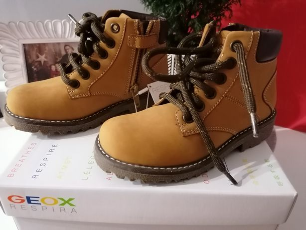 Buty GEOX Axel BOY 29 nowe dzieci dziecięce dla dziecka zimowe skóra