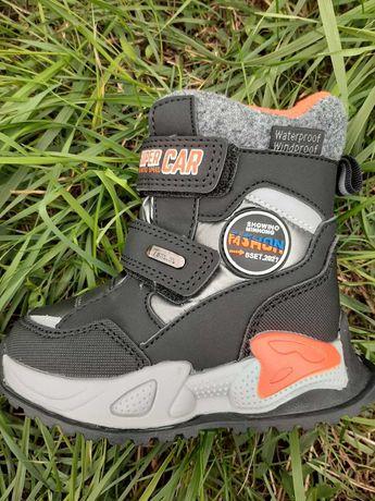 Зимние термоботинки ботинки для мальчика Том М разные размеры