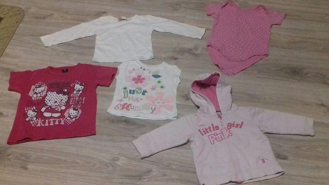 Koszulki z krótkim,długim rękawem,body,bluza dla dziewczynki 80,86,104