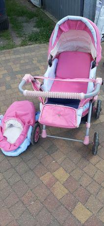 Wózek dla lalek plus spacerówka gratis
