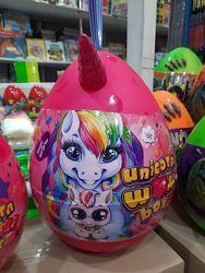Большое яйцо единорог Unicorn wow box surprise box