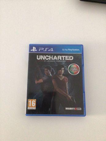 Jogo PS4 Uncharted Legado Perdido - Hits