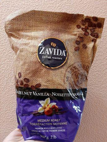 Кофе Zavida, 100% Арабика, Фундук ваниль
